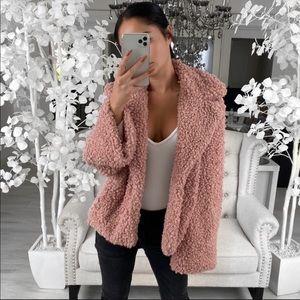 November Box Ultra Soft Bouncy Rose Jacket
